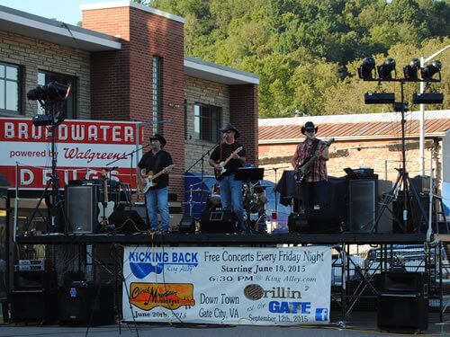 Free Concerts Gate City VA